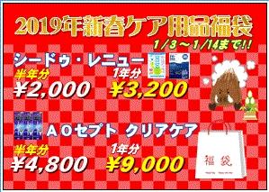 1月3日より福袋販売開始!!