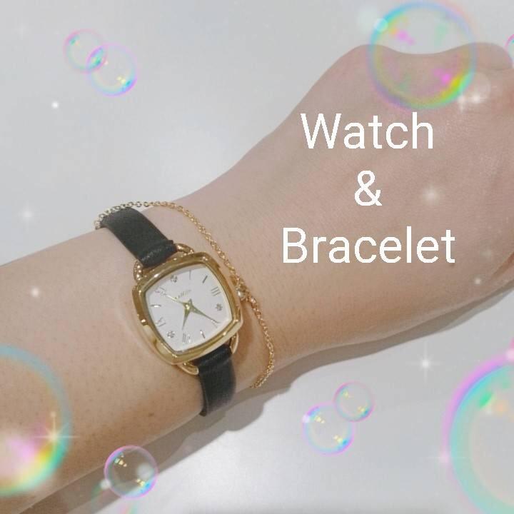 時計&ブレスレット♡
