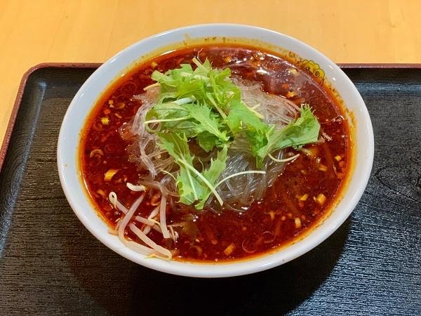 暑いときには、辛い「麻辛スープ餃子」がおすすめ!!