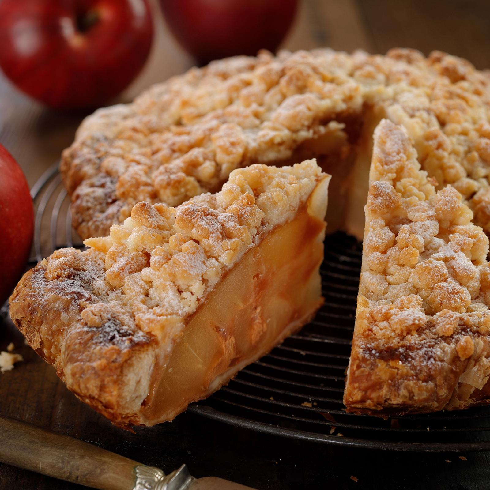 秋の定番アップルパイ